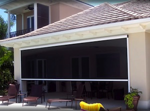 Retractable Garage Door Screen