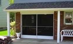 sliding garage screen5 - Sliding Garage Door Screen